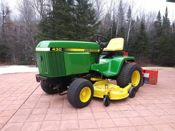 Photo 430 John Deere diesel  attachment - $7500 (Park Falls)