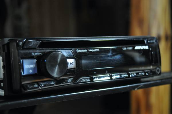 Photo Alpine Car Stereo Package - $80 (Tomahawk, WI)