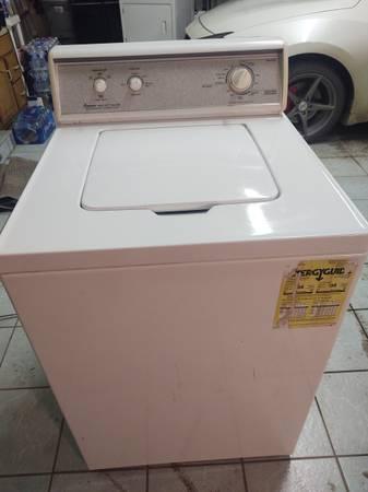 Photo Amana Heavy Duty Washer  Dryer - $200 (Pelican Lake)