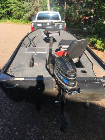 Astro Lakesport 14v Dlx Boat With Mercury Outboard And Trailer 1400 Manitowish Waters Boats For Sale Northern Wisconsin Wi Shoppok