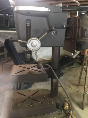 Photo Craftsman drill press - $100 (3 Lakes Wi)