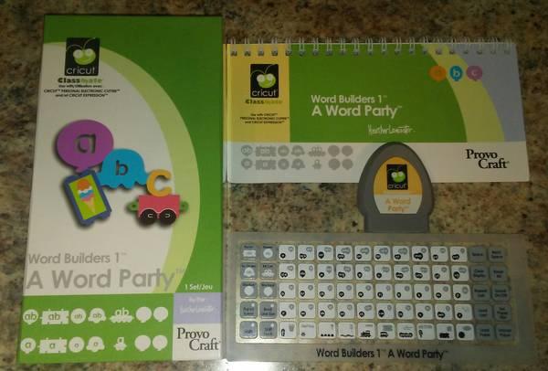 Photo Cricut Classmates Cartridge- A Word Party - $15 (West De Pere)