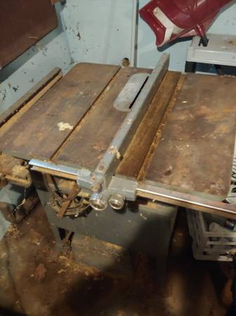 Photo Delta Table Saw with Plainer - $50 (Lac du Flambeau - Fence Lake)