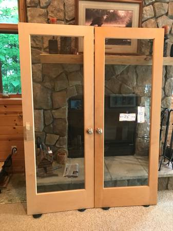Photo Double Glass Doors - $600 (Hayward, WI)