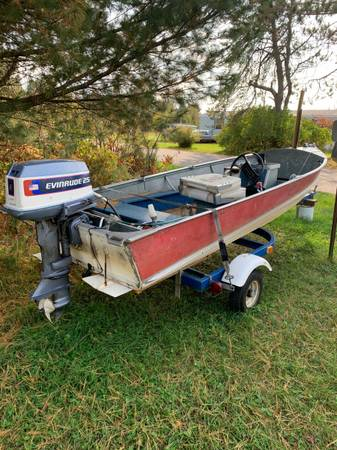 Photo Fishing boat  trailer for sale - $900 (Eagle River)