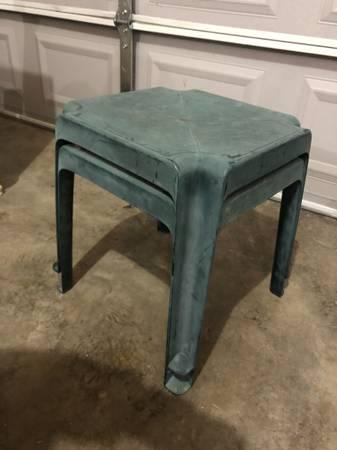 Photo Free Small Plastic Patio Tables (Eagle River)