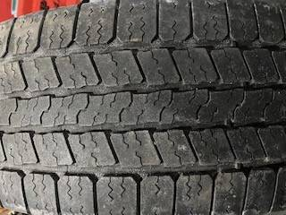 Photo Goodyear Wrangler SR-A Tires (Tony, WI)