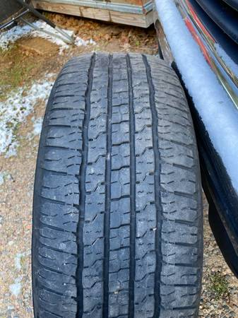 Photo Goodyear wrangler tires 27565R18. $175 - $175 (Eagle River)