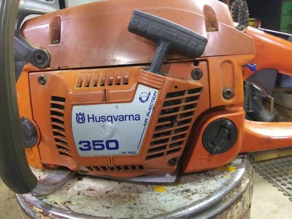 Photo Husqvarna 350 chain saw - $200 (Cadott)