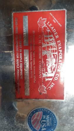 Photo Maple Syrup Pan - $1,900 (Elmwood)