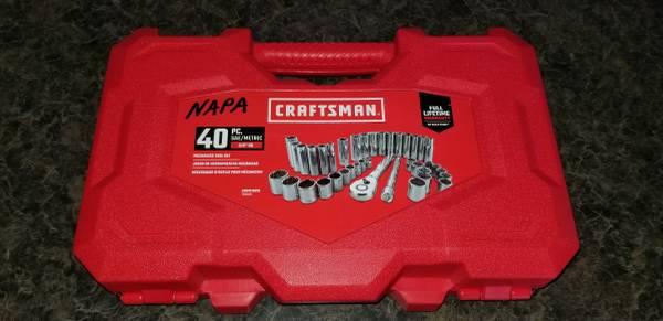 Photo NEW Craftsman 40 Piece Socket Set - $40 (Green Bay)