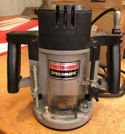Photo Porter Cable Router Model 7539 - $295 (Arbor Vitae)