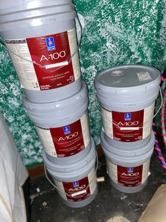 Photo Sherwin Williams Paint 5-5lb buckets - $175 (Three Lakes)