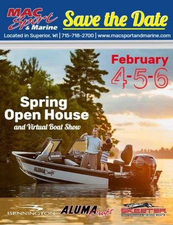 Photo Spring Open House  Virtual Boat Show (Superior)