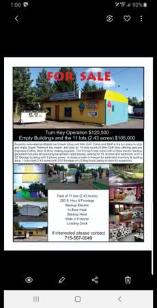 Photo Turn key Ice Cream Shoppe and Mini Golf - $120,500 (Ladysmith)