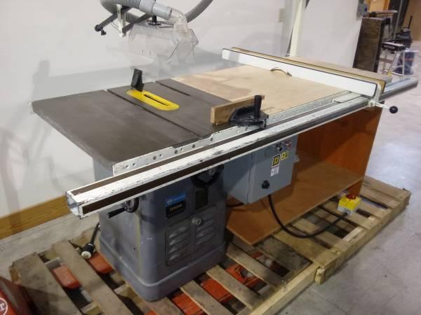 Photo Used Rockwell Unisaw Model 34-771 - $1450 (Mercer, WI)