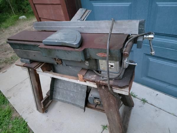 Photo Vintage Craftsman jointer - $50 (Lake Tomahawk)