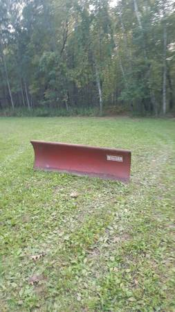Photo Western snow plow - $550 (Lena wi)