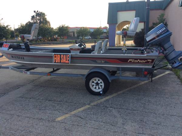 16 FT. Aluminum Fisher Bass Boat - $4000 (Tupelo) | Boats For Sale