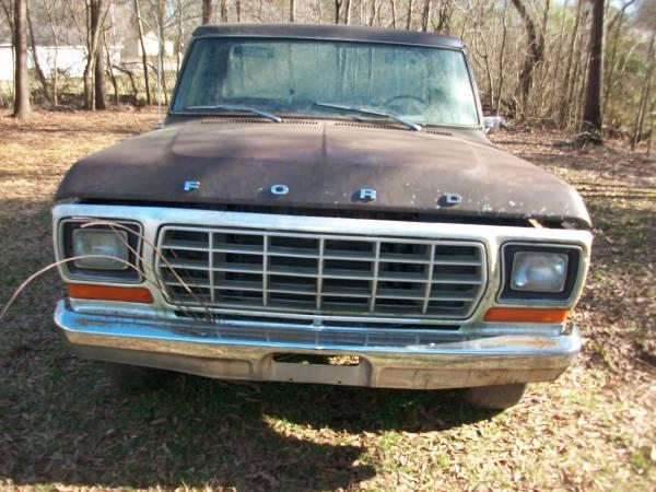 Photo 1978 ford f150 1 owner farm truck - $3,000 (corinth)