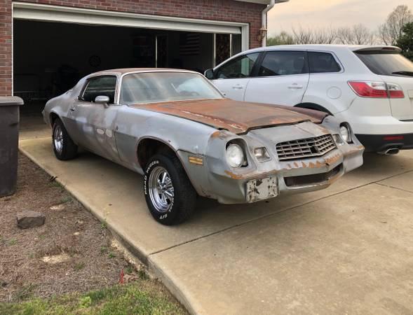 Photo 1979 Chevrolet Camaro - $1450 (Saltillo)