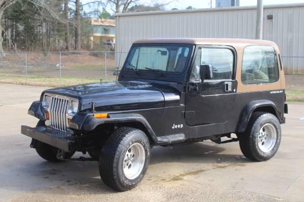 Photo 1994 Jeep Wrangler - $6500 (Fulton)