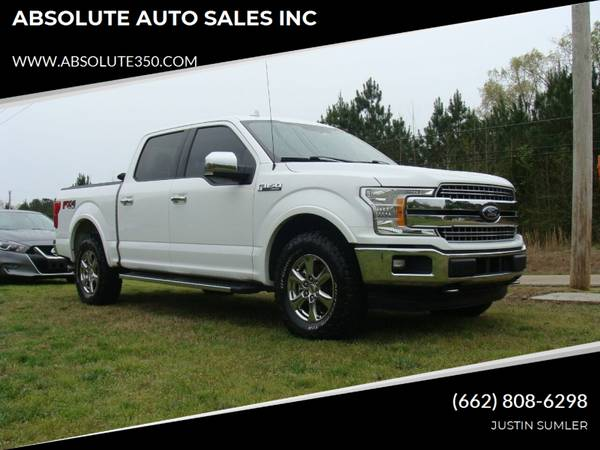 Photo 2018 FORD F150 LARIAT SUPERCREW 4X4 LOADED UP STOCK 662 - ABSOLUTE - $28900 (345 HWY 2NE)