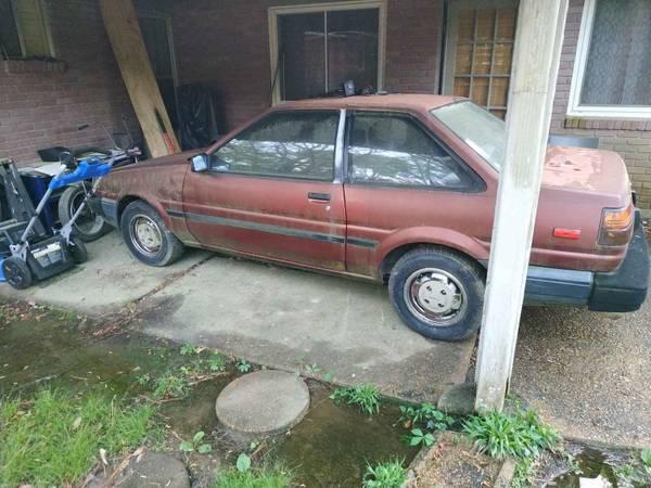 Photo 87 Toyota Corolla (ae86) - $3000 (Jackson)