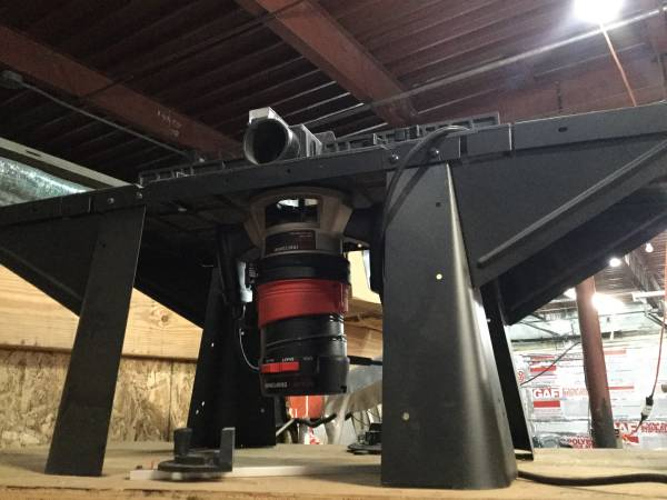 Photo Craftsman table top- router table - $150 (Memphis)