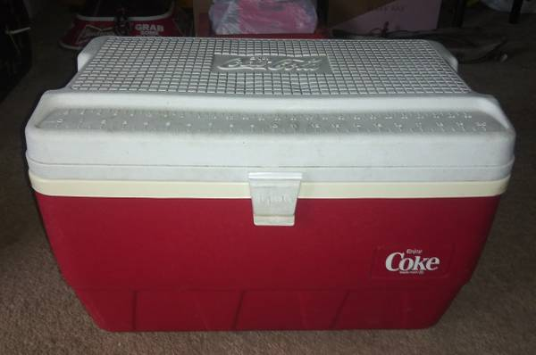Photo Igloo Coca Cola Chest Cooler - $25 (Lawrenceburg)