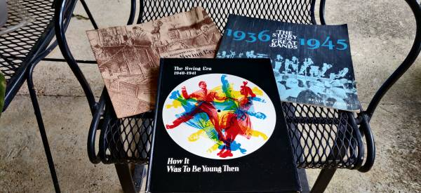 Photo Three books about music in the 30s and 40s - $12 (Florence)