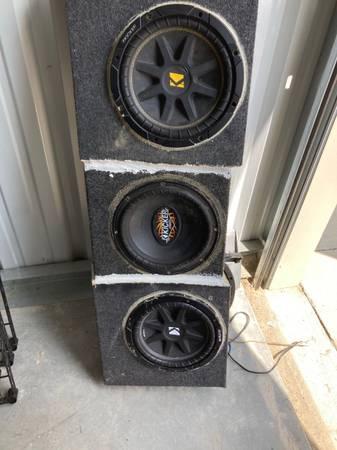 Photo kicker car audio - $75 (Dyersburg)