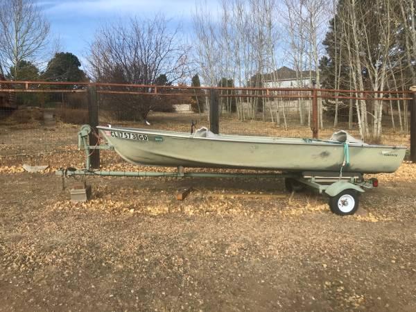 Photo 14 Ouachita V-bow Fishing Boat  needs some love - $650 (Estes Park)