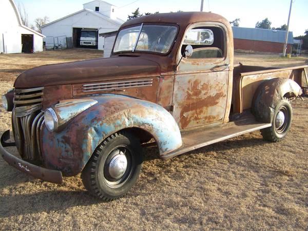 Photo 1941 Chevy 12 ton Pickup - $4500 (Stratton, NE)
