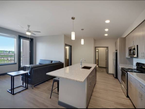 Photo 1 bedroom and 1 bathroom for rent in a 4 by 4 apartment(There is a discount) (Fort Collins)