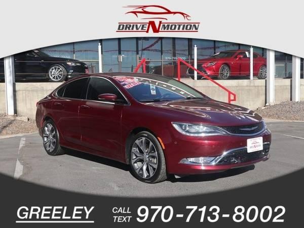 Photo 2015 Chrysler 200 C Sedan 4D - $12,995 (_Chrysler_ _200_ _Sedan_)