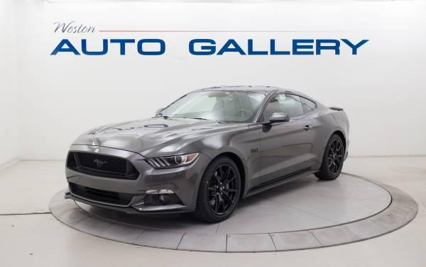 Photo 2017 Ford Mustang GT Premium Manual Radar Cruise Like New - $33,980 (Weston Auto Gallery)