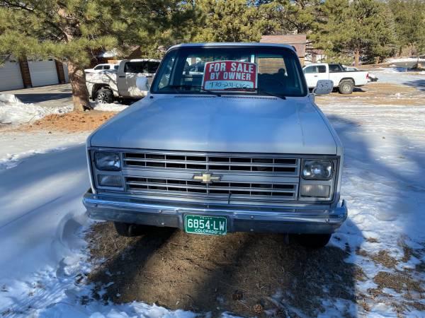 Photo 86 CHEVY K20 4X4 - $5,500 (Estes park)