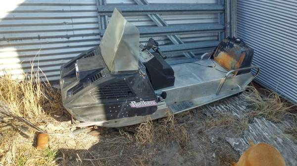 Photo Arctic Cat Panther 440 Kawasaki 196039s 197039s vintage snowmobile - $250 (Imperial)