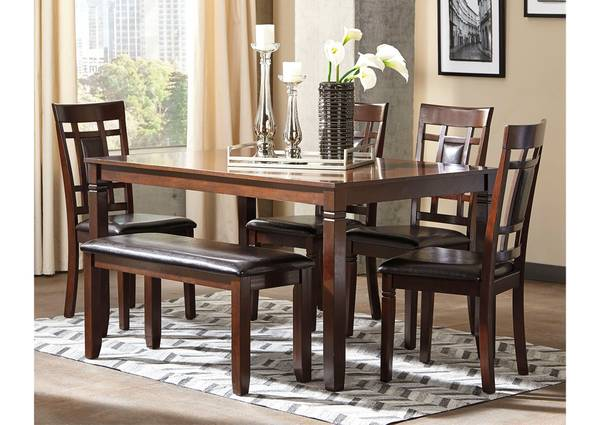 Photo BRAND NEW FACTORY DIRECT-BUY DINING SETS from ASHLEY FURNITURE (50 to 75 OFF RETAIL FT.COLLINS)