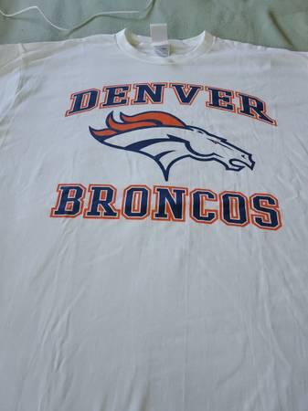 Photo Denver Broncos shirts. - $20 (Gilcrest)