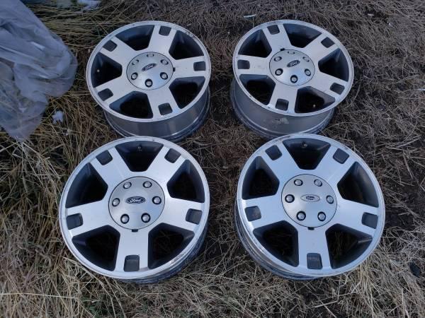 Photo Ford F150 Wheels - $200 (Elsie)