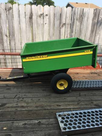 Photo John Deere Garden dump trailer 10s - $150 (NORTH PLATTE)