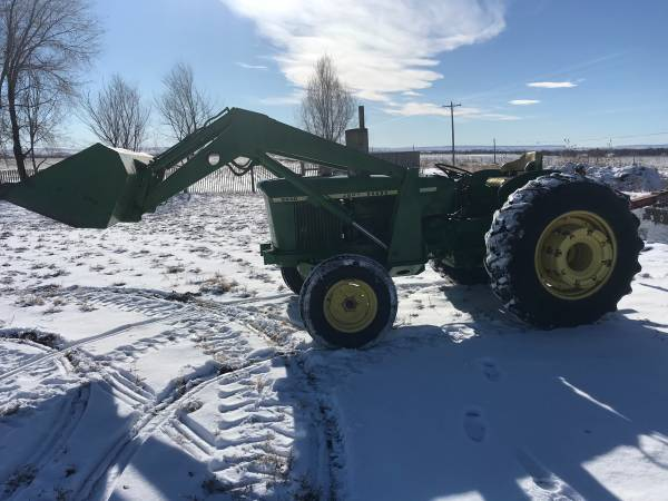Photo John Deere tractor with loader and attachments - $13,500 (Scottsbluff)