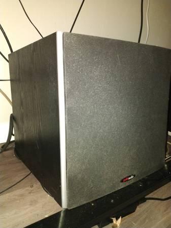 Photo Polk Audio PSW10 Subwoofer 10quot - $90 (Fort Collins)