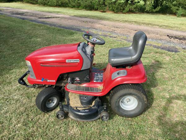 Photo Sears Craftsman 25 HP 48quot Lawnmower Hydrostatic Electric Start - $299 (Ogallala, Nebraska)