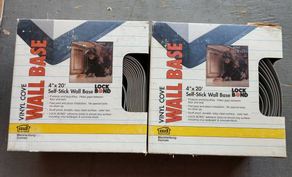 Photo Self-Stick Vinyl Wall Base - Gray - $10 (South Ft. Collins)