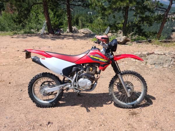 Photo Street Legal Honda CRF150F - $2,500 (Estes Park)