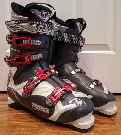 Photo Tecnica Phoenix 80 UltraFit Ski Boot (Size - Mondo 28.5  US 10.5 Men) - $100 (Old Town North Fort Collins)