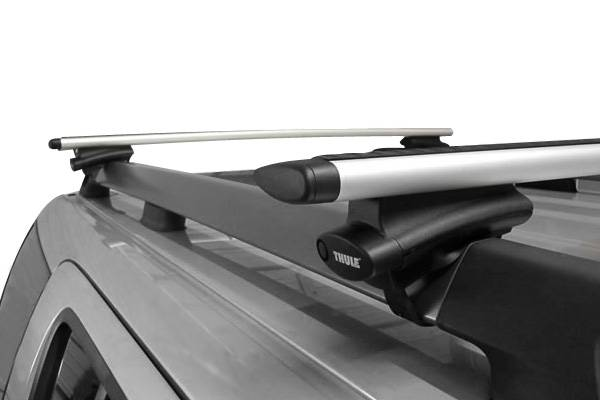 Photo Thule 53quot AeroBlades Roof Rack For Raised Side Rails, LocksKeys - $280 (Fort Collins)